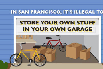 In San Francisco, It's Illegal to Store Your Own Stuff in Your Own Garage