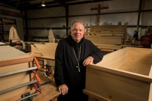 The brothers of Saint Joseph Abbey, a century-old Benedictine monastery in Covington, La., began to sell their handmade wooden caskets in late 2007 to support their educational and health care expenses. The state board moved to shut down the monks' fledgling business before it sold even one casket because it was a crime in Louisiana for anyone but a government-licensed funeral director to sell caskets to the public.