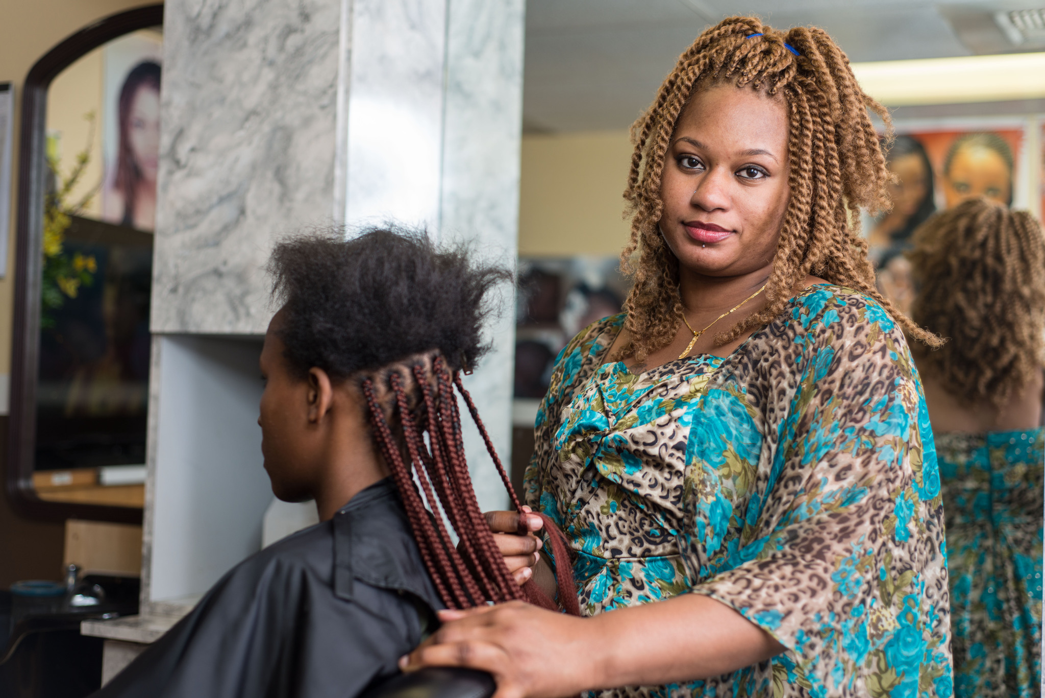 African Hair Braiding Style: Washington Hair Braiding