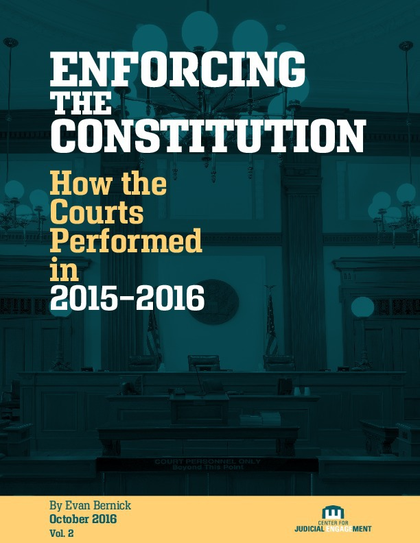 Enforcing the Constitution - Institute for Justice